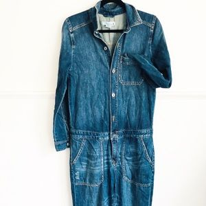 Fun Classic  Light Distressed Winter overall • 8
